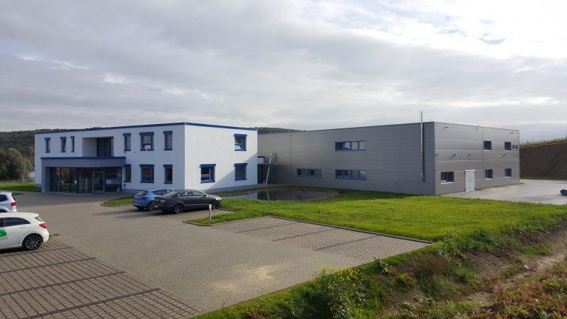 Neubau Produktions- und Verwaltungsgebäude