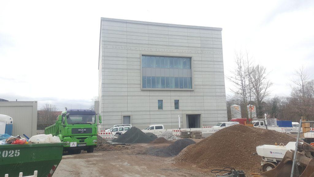 Neubau Neues Bauhausmuseum Weimar